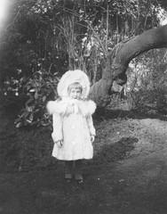 Girl in Garden 19c