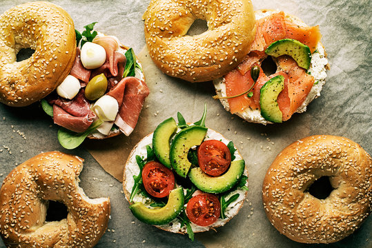 Bagel sandwich healthy