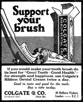 Colgate Dental Cream Adv