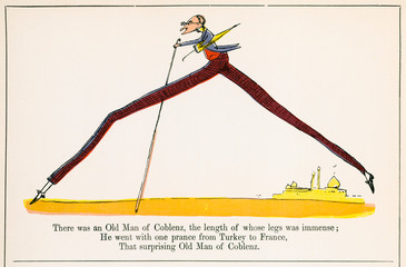 Old Man of Coblenz, Edward Lear