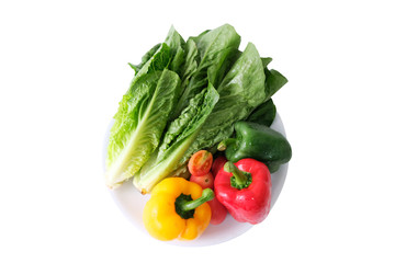 Green, red, yellow vegetables that are beneficial to the body