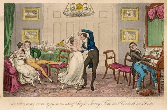 Egan Life in London 1821
