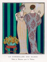 Theatre Robe Coat 1913
