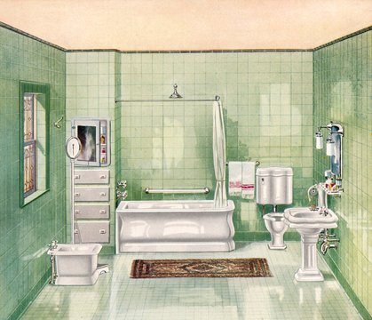 Smart Bathroom 1911