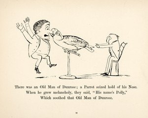 Old Man of Dunrose, Edward Lear