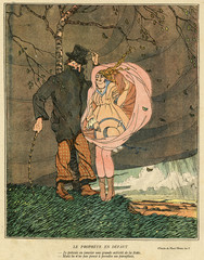Cartoon, Sheltering From a Squall