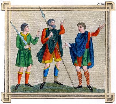 Anglo Saxon Men Pl Xix