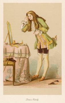 Costume Beau Nash 1700