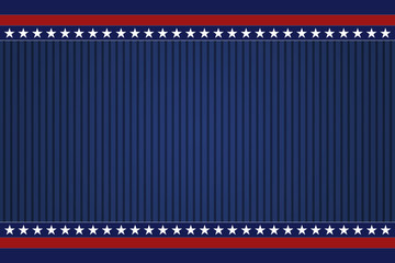 Blue USA background Wall mural