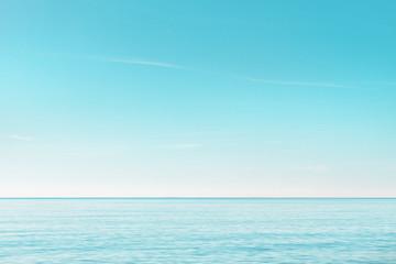 serene seascape in the morning