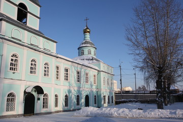 Church Of The Beheading Of John The Baptist in Saransk, Mordovia republic of Russian Federation
