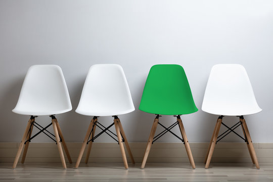 Hiring Concept With An Empty Chair
