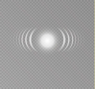 Sonar waves isolated