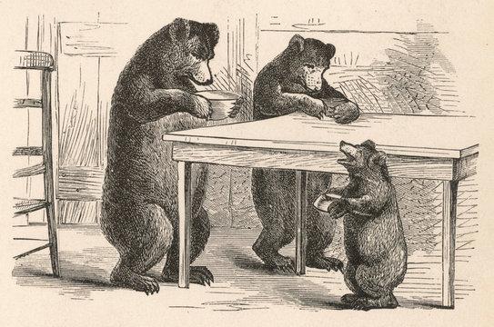 Goldilocks and the Three Bears Nursery Tale