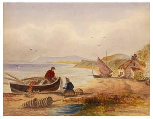 Fishermen on Shore