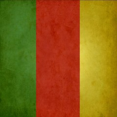 vintage reggae background.Reggae background.Green,red and yellow color.Striped color.