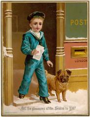 Posting Christmas Cards