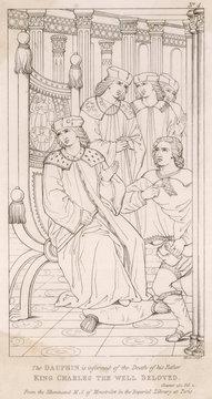 Death of Charles Vi