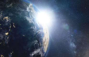Erdekugel - Weltraum - Astronomie