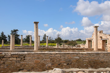 Sanctuary of Apollo Hylates - Kourion in spring, Cyprus