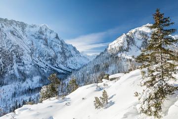 Great Cold Valley in High Tatras National Park (Vysoke Tatry), Slovakia