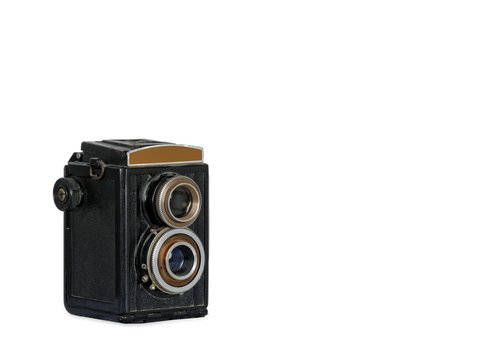 very old antique camera