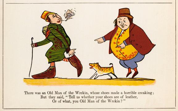 Old Man of the Wrekin, Edward Lear