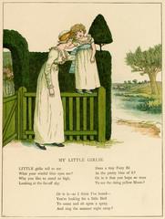 Illustration, My Little Girlie