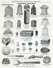 Trade Catalogue for Ice Cream Moulds 1911