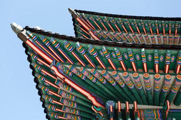 Gyeongbokung Palace in Seoul, South Korea