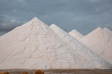 Salzberg in einem Salzabbaugebiet