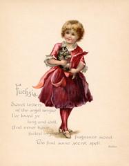 Fuchsia language of Flowers