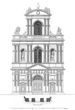 Paris, France Eglise De Saint Gervais Et Saint Protais