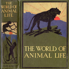 The World of Animal Life Book FronT Cover