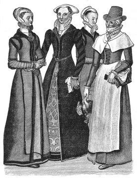 Womens Costume C1600