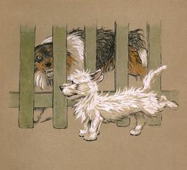 Illustration by Cecil Aldin, Mac