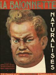 Front Cover, La Baionnette, Ww1