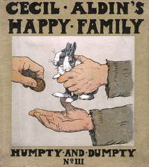 Cover Design, Cecil Aldins Happy Family, Humpty and Dumpty