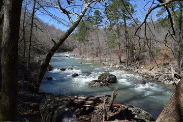 Little Missouri River in Arkansas