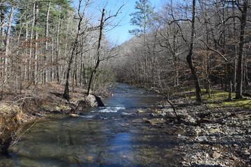 Little Missouri River in Ouachita National Forest Arkansas