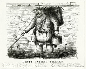 Dirty Father Thames 1848