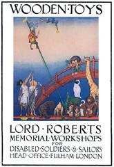 Lord Roberts Memorial Workshop Poster, 1917