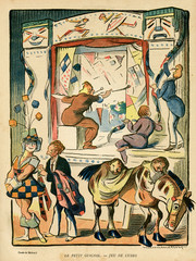 Cartoon, the Little Guignol, Game of Cubes