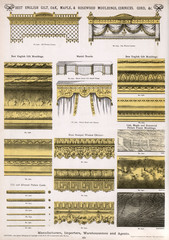 Mouldings and Cornices, Plate 175