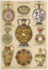 Fine Art Ware, Plate 73