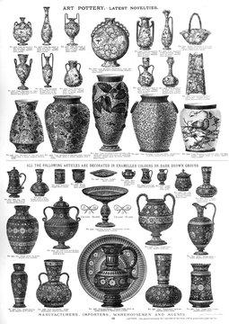 Art Pottery, Latest Novelties, Plate 89