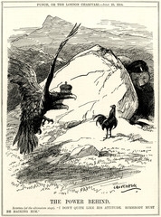 Ww1 Cartoon the Austrian Ultimatum