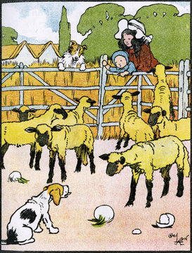 Illustration by Cecil Aldin, My Pets and Their Ways