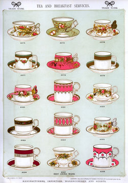 Tea and Breakfast Services, Best China Ware, Plate 31