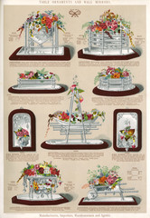 Table Ornaments and Wall Mirrors, Plate 98